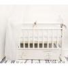 Детская кроватка By Twinz Радужные Единороги, поперечный маятник, белая, купить за 9 970руб.