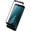 GlassPro Samsung J6 2018 Full screen FULL GLUE, черное, купить за 525руб.