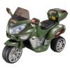 Электромобиль RiverToys Moto HJ 9888, зеленый, купить за 8 050руб.