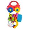 Музыкальная игрушка Жирафики, Машинка с ключиками со светом и прорезывателями (939550) от 6 мес, купить за 380руб.