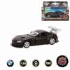 Игрушки для мальчиков Пламенный мотор BMW Z4 GT3 (870297) Машина, черная матовая, купить за 315руб.