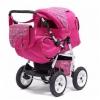 Коляска Коляска-трансформер Teddy Bart-Plast Victoria PKL MO04 розовый, купить за 12 825руб.