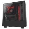 Корпус NZXT H500 CA-H500B-BR черный/красный, купить за 5 310руб.