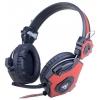 Гарнитура для пк Xtrikeme HP-401, черная/красная, купить за 845руб.