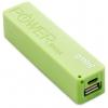 Аккумулятор универсальный внешний Gmini GM-PB026-G, 2600mAh, зеленый, купить за 325руб.
