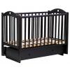 Детская кроватка Malika Laura-3 с ящиком, венге, купить за 8 619руб.