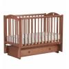 Детская кроватка Malika Laura-3 с ящиком, светлый орех, купить за 9 950руб.