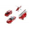 Товар для детей Welly (набор машин) Пожарная служба, 4 шт., купить за 1 380руб.
