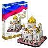товар для детей CubicFun 3D-пазл Храм Христа Спасителя (Россия)