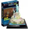 товар для детей CubicFun 3D-пазл Статуя Свободы с иллюминацией  (США)