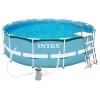 Бассейн каркасный Intex 28726 каркасный 366х122см фильтр-насос 3785л/ч, лестница, (10250 л), купить за 19 435руб.