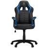 Игровое компьютерное кресло HHGears SM115_BBL, чёрно-синее, купить за 5 990руб.