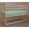 Детская кроватка Массив Беби-4 без ящика светлый, купить за 4 220руб.