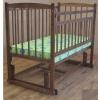 Детская кроватка Массив Беби-4 без ящика nut, купить за 4 220руб.