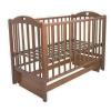 Детская кроватка Малика Laura-2 (маятник), светлый орех, купить за 9 010руб.