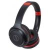 Audio-Technica ATH-S200BTBRD, черные с красным, купить за 5 010руб.