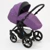 Коляска Mr Sandman Traveler Premium, фиолетовая с черным, купить за 21 490руб.