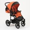 Коляска Mr Sandman Traveler Premium, оранжевая с черным, купить за 21 490руб.