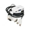 """TRENDnet """"TK-217i"""" (монитор D-Sub, 2xUSB) + 2 кабеля KVM, купить за 1 700руб."""