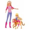 Кукла Simba Steffi Love Штеффи и Еви с пони на ферме, 29 см, купить за 1 295руб.