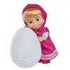 Кукла Simba Маша и медведь Маша с пингвиненком в яйце, 12 см, купить за 1 190руб.