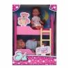 Кукла Simba Еви с братиком, 12 см (набор с двухъярусной кроваткой), купить за 1 190руб.