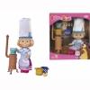 Кукла Simba Маша в одежде повара и c аксессуарами, купить за 980руб.