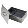 Коптильня Кедр Плюс 420х270х175, сталь 0.8 мм, двухъярусная малая, купить за 845руб.