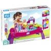 Конструктор Mega Bloks Building Basics FFG22 Развивающий столик принцессы, купить за 4 915руб.