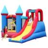 Батут детский Happy Hop Замок с горкой 9007 (надувной), купить за 39 070руб.