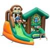 Батут детский Happy Hop Мартышка 9471 с горкой (надувной), купить за 32 765руб.