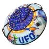 Тюбинг Small Rider Cosmic Zoo UFO, синий медвежонок, купить за 2 490руб.