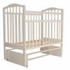 Детская кроватка Агат Золушка-3, Слоновая кость, купить за 4 480руб.