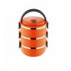 Термос Термо ланч-бокс из нержавеющей стали, 2,1 л (Оранжевый), купить за 570руб.