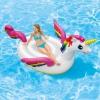 Надувная игрушка INTEX Большой Единорог с держателями (287x193x165 см), купить за 2 540руб.
