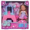 Кукла Simba Еви с туалетным столиком, 12 см, 5733231, купить за 999руб.