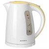 Чайник электрический Supra KES-1726, белый/желтый, купить за 960руб.