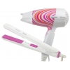 Фен Supra PHS-211, белый/розовый, купить за 1 830руб.
