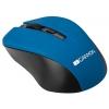 Мышка Canyon CNE-CMSW1BL, синяя, купить за 625руб.