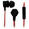 Гарнитура для телефона BBK EP-1540S, черно-оранжевая, купить за 380руб.