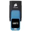 Corsair Flash Voyager Slider X2 128GB, чёрно-синяя, купить за 4 550руб.