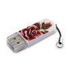 Usb-флешка Verbatim Store n Go Mini Tattoo Rose, белый узор, купить за 540руб.