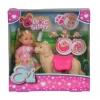 Кукла Simba Evi с собачкой и щенками, 12 см, 5733072, купить за 999руб.
