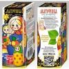 Товар для детского творчества Матрешка под раскраску Десятое королевство 11 см (01964ДК), купить за 300руб.