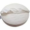 Облачко круглая, бязь (75х75 см) белая, купить за 200руб.