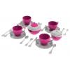 Игрушки для девочек Набор посуды Нордпласт Волшебная Хозяюшка 24 пр. (620), купить за 295руб.
