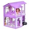 Домик для кукол Krasatoys Алиса, бело-сиреневый с мебелью (282), купить за 1 630руб.