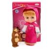 Кукла Карапуз Маша и Медведь Маша 25 см (набор с мишкой) 83034S(18), купить за 1 490руб.