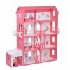 Игрушки для девочек Replace and Choose Коттедж Александра с мебелью, для кукол (252) бело-красный, купить за 5 410руб.
