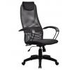 Компьютерное кресло Метта  BР-8 PL № 20, черная сетка , металлические подлокотники, купить за 4 765руб.